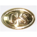 "Civil War ""CS"" Box Plate"
