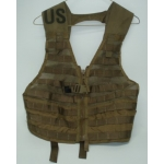 US Issue Coyote Green MOLLE Load Bearing Vest