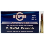 7.5x54 French FMJ, (20rds) $29.95