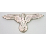 Waffen S.S. Peaked Cap Eagle (Metal)