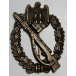Infantry Assault Badge in Bronze