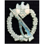 Infantry Assault Badge in Silver