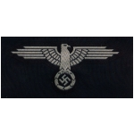 Waffen S.S. Enlisted Man's Cap Eagle (Silk Woven)