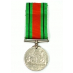Defence Medal, (Silver Canadian Issue)