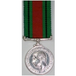 Defence Medal, (mini)