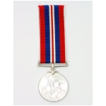 1939 - 1945 War Medal, (Silver Canadian Issue)
