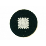 Army Obershutze Sleeve Star on Green Wool