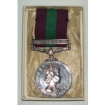 British Silver Issue General Service Medal 1918 - 1964, Malaya Clasp, (RAF)
