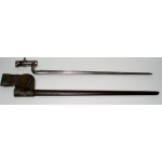 "US 1873 Model Bayonet & ""NJ"" Scabbard"