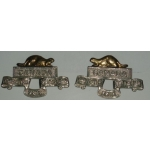 29th Vancouver Battalion Collar Dogs, (pair)