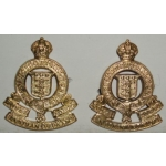 Royal Canadian Ordnance Corps Collar Insignia, pair