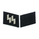 S.S. Enlisted Man's Rune Collar Patches