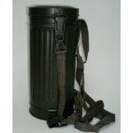 WWII German M38 Gas Mask Canister with Straps