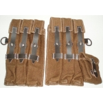 WWII German MP 40 Pouches, Late War