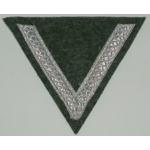 Army/Waffen SS 1 Stripe Rank Chevron