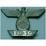 1939 Bar to the Iron Cross 1st Class, (original)