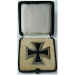 1939 Iron Cross 1st Class, Cased, (original)