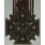 N.S.D.A.P. 10 Year Long Service Cross