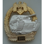 "Panzer Assault Badge, ""100"""