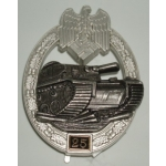 "Panzer Assault Badge, ""25"""