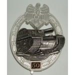 "Panzer Assault Badge, ""50"""
