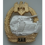 "Panzer Assault Badge, ""75"""