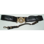 WWII Japanese Naval Officer's Sword Belt With Hanger, (orig)