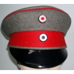 WWI Prussian Officers Visor Cap