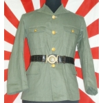 WWII Japanese Naval Officer's Tropical Tunic, (orig)