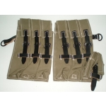 WWII German MP 40 Pouches