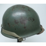 WWII US M1 Helmet, Swivel Bail