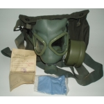 Yugoslavian M 1, (US M9A1) Gas Mask, Filter & Pouch