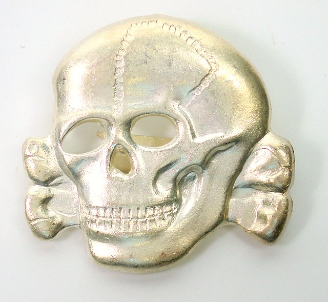 Waffen S S  Peaked Cap Skull (Metal): Shop Military Goods in Calgary